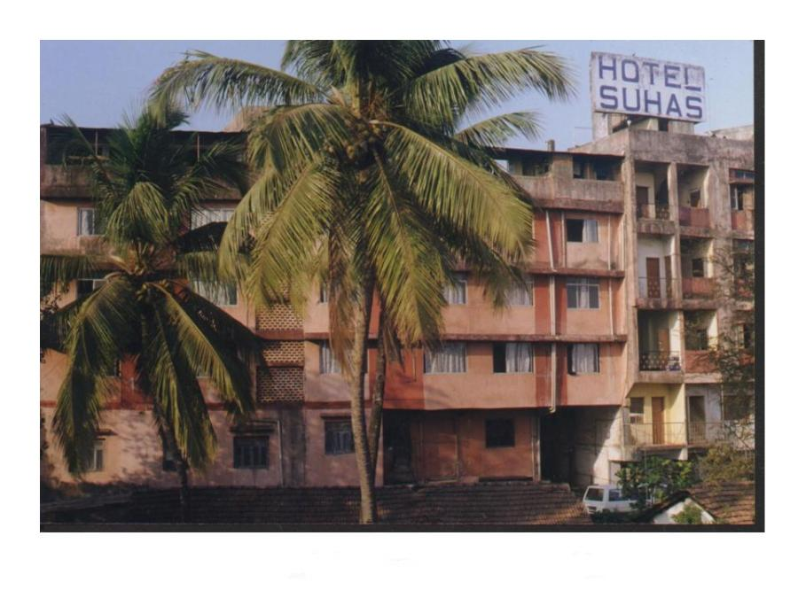 Hotel SUHAS in the heart of commercial city of Mapusa, Goa.
